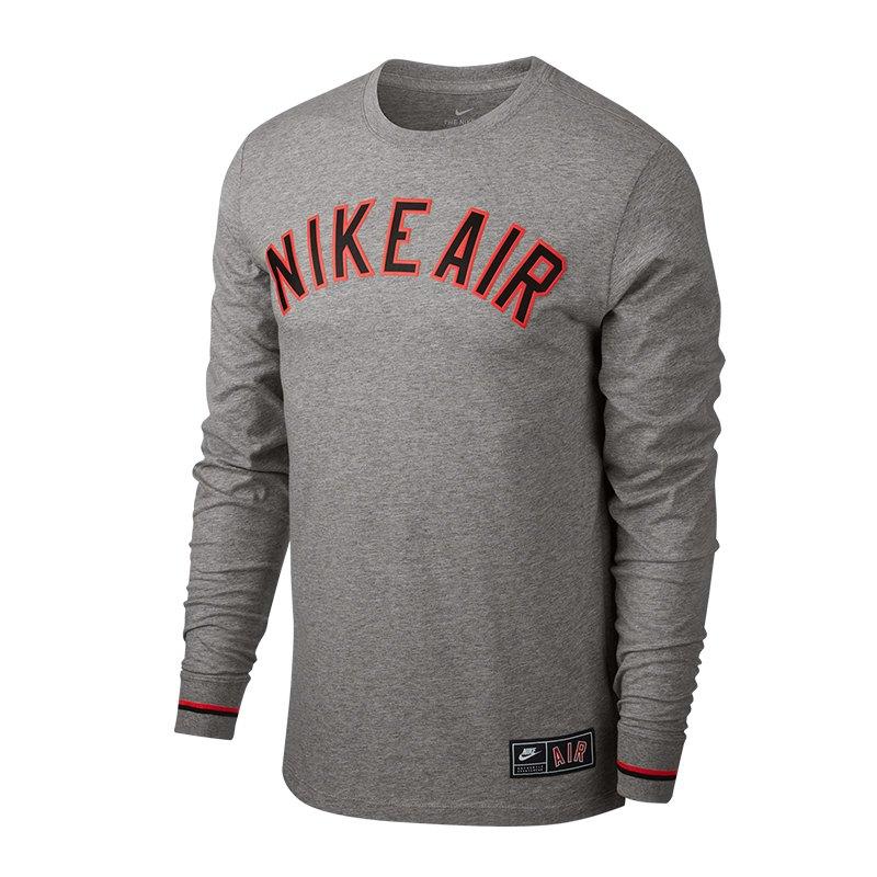 403ade787df3f9 Nike Air 1 Sweatshirt Grau F063 - grau