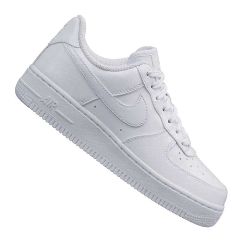 nike air force 1 07 essential sneaker damen f100 weiss. Black Bedroom Furniture Sets. Home Design Ideas