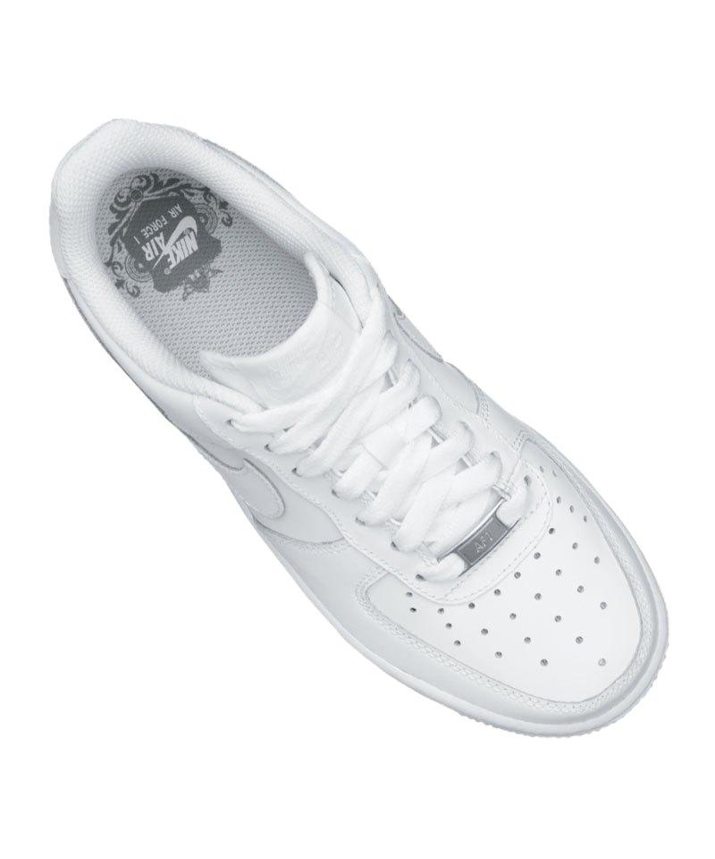 Nike Air Force 1 Sneaker Kids Weiss F117