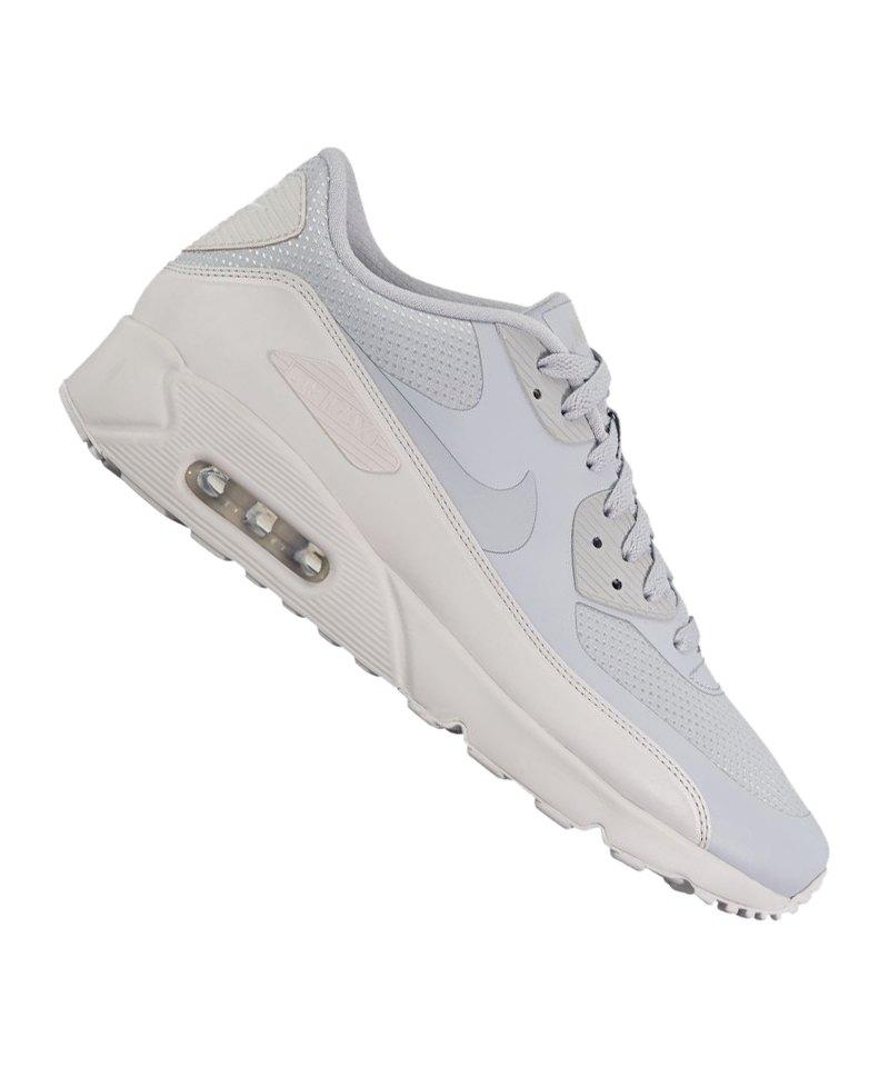 Nike Herren Air Max 90 Ultra 2.0 Essential Turnschuhe, grau, 41 EU