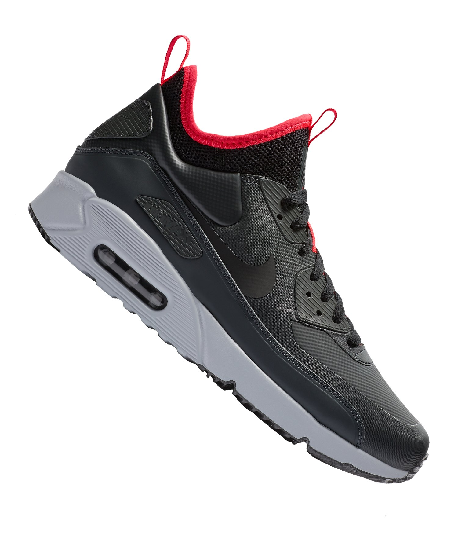 c83d375028b40 Nike Air Max 90 Ultra Mid Winter Sneaker F003 - schwarz