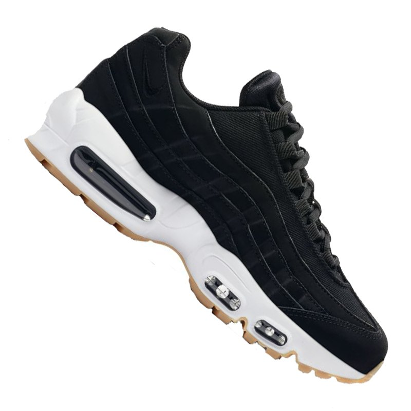on sale 160f8 eff8e Nike Air Max 95 Sneaker Damen Schwarz F017 - schwarz