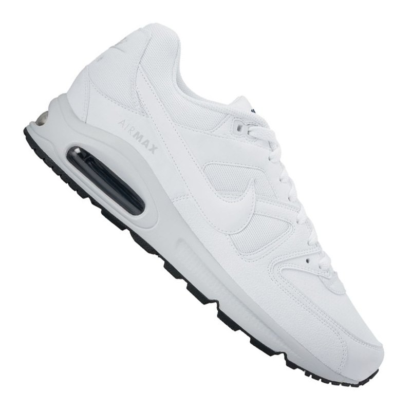 nike air max command leder sneaker weiss f100