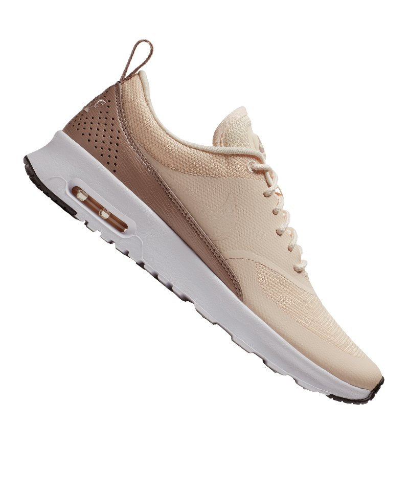 a8d538cdab20dc Nike Air Max Thea Sneaker Damen Braun Weiss F804 - braun