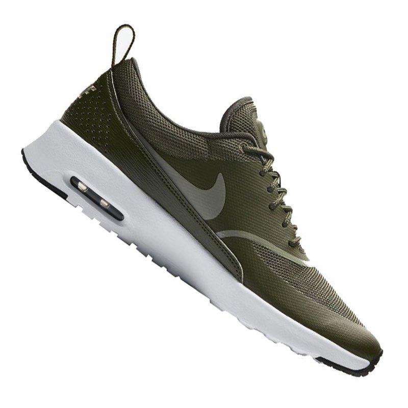 best website 7e282 beb94 Nike Air Max Thea Sneaker Damen Khaki F310 - gruen