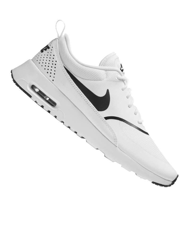 huge discount f6e7d 872fb Nike Air Max Thea Sneaker Damen Weiss Schwarz F108 - weiss
