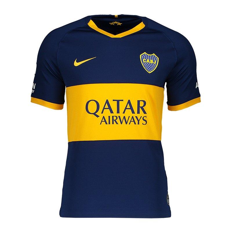 the latest 81827 0a40a Nike Boca Juniors Trikot Home 19/20 F493