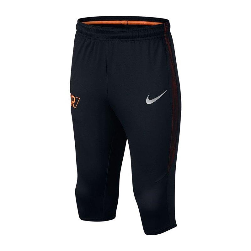Nike CR7 Dry Squad 34 Pant Hose Kids Schwarz F010