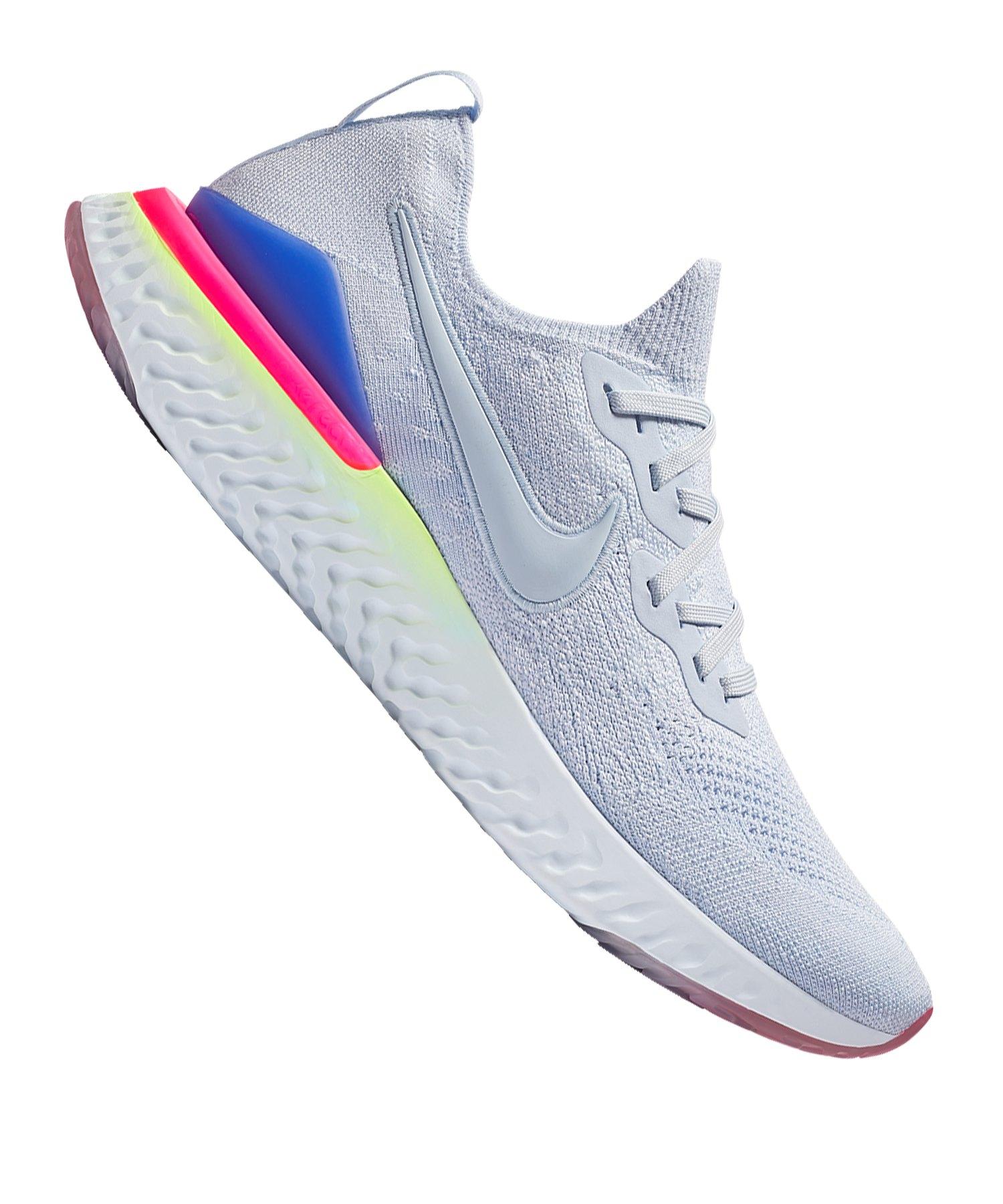 Nike Epic React Flyknit 2 Running Blau F453