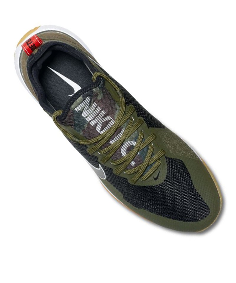 F.C. React Sneaker Grau Rot F061