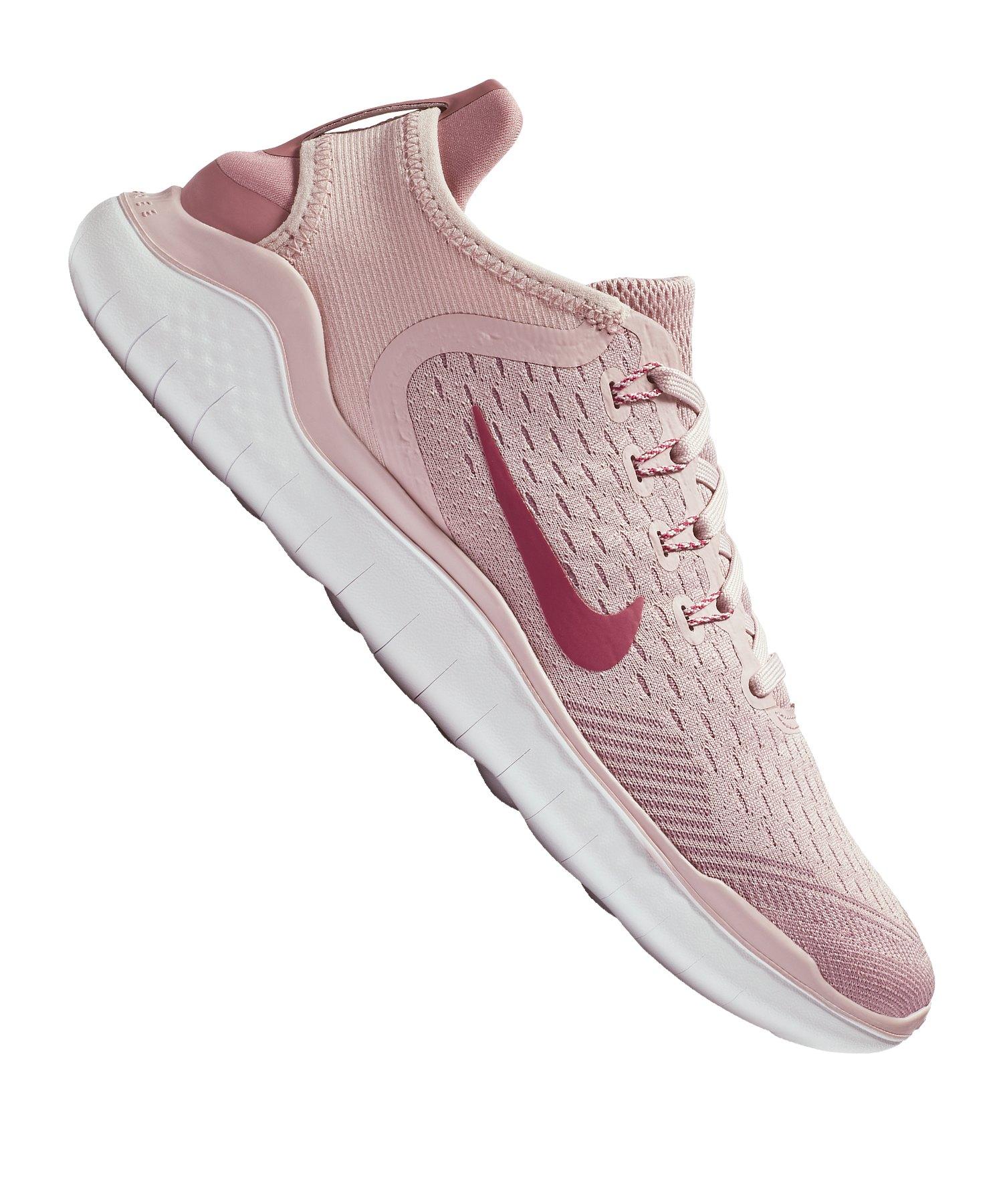 Nike Free RN 2018 Running Damen Rosa F500
