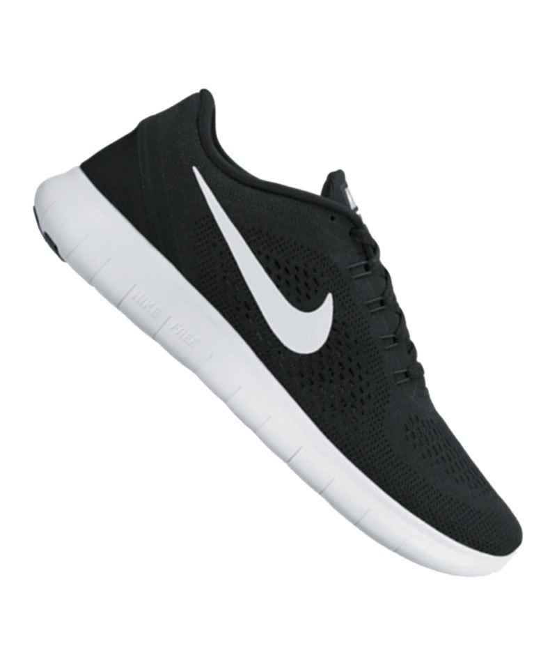 buy online dd200 453f3 Nike Free Run Schwarz Weiss F001 - schwarz