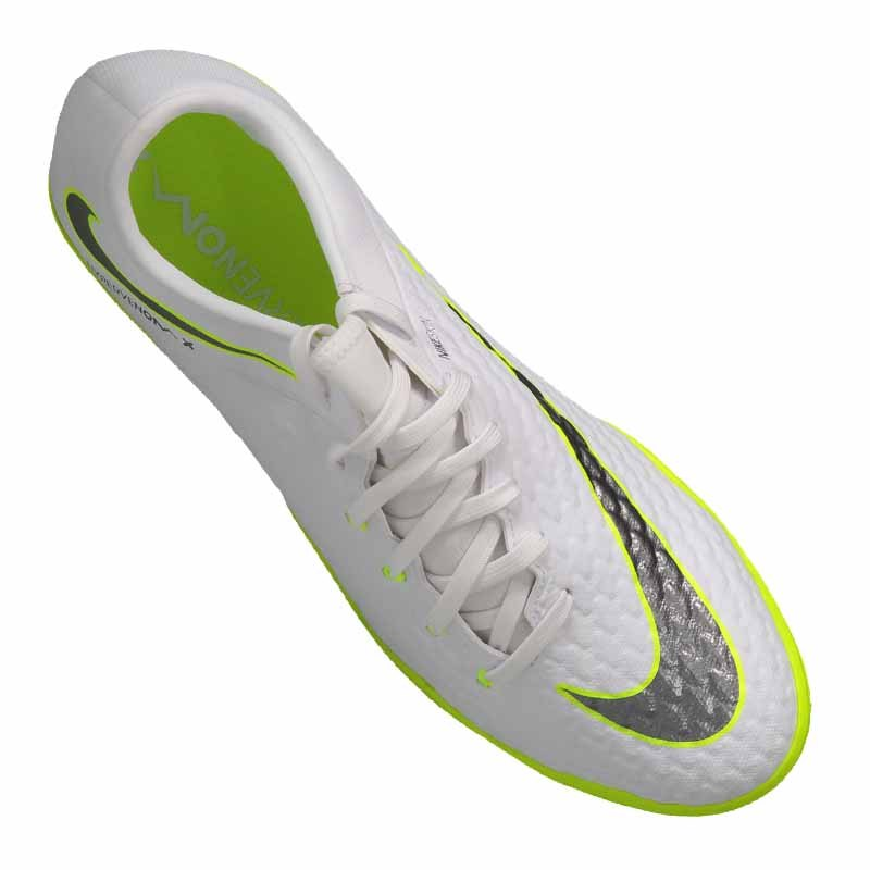 sale retailer b840e 206fc Nike Hypervenom PhantomX III Academy IC Weiss F107