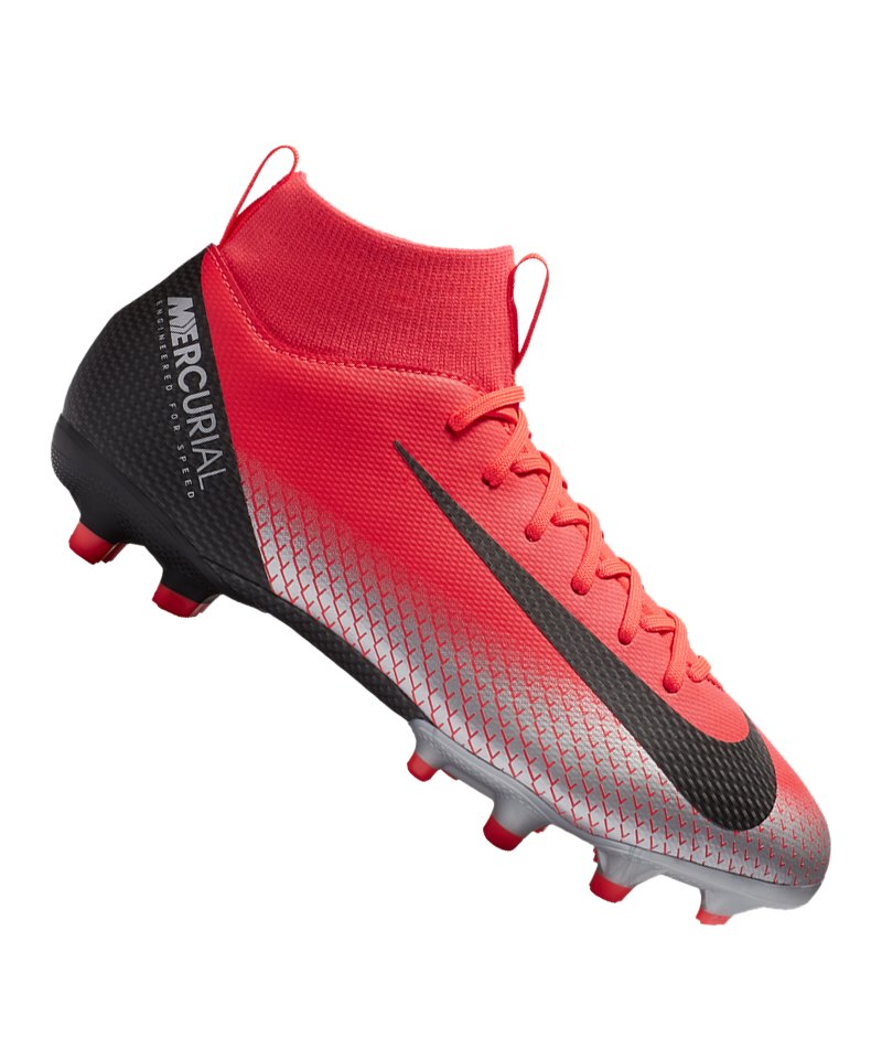 best loved b1dcc 64ec8 Nike Jr Mercurial Superfly VI Academy CR7 MG Kids F600 - rot