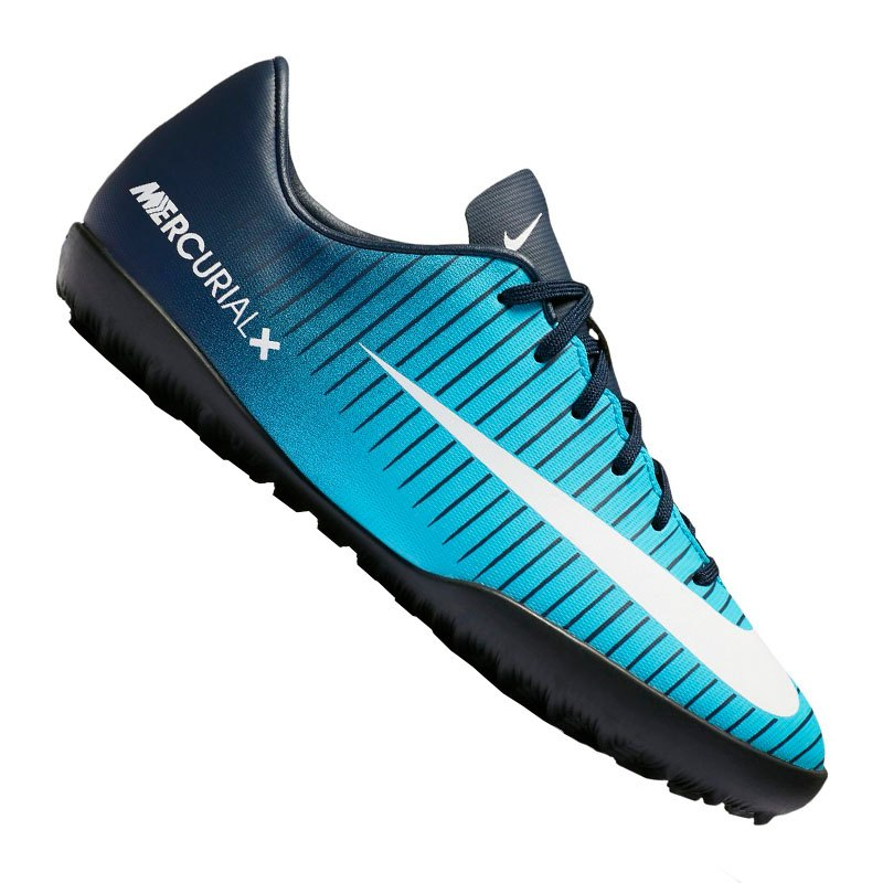 the latest a42f7 55bfd Nike Jr Mercurial X Victory VI TF Kids Blau F404 - blau