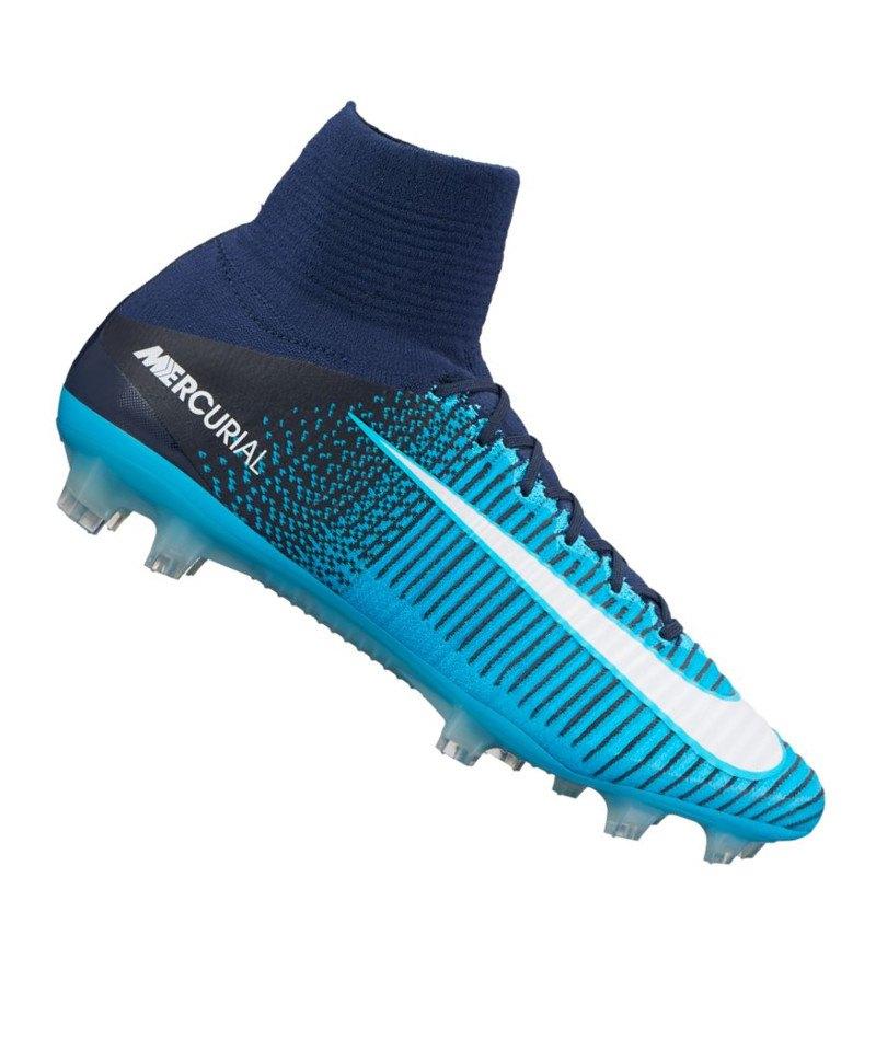 Nike Mercurial Superfly V FG Blau F414