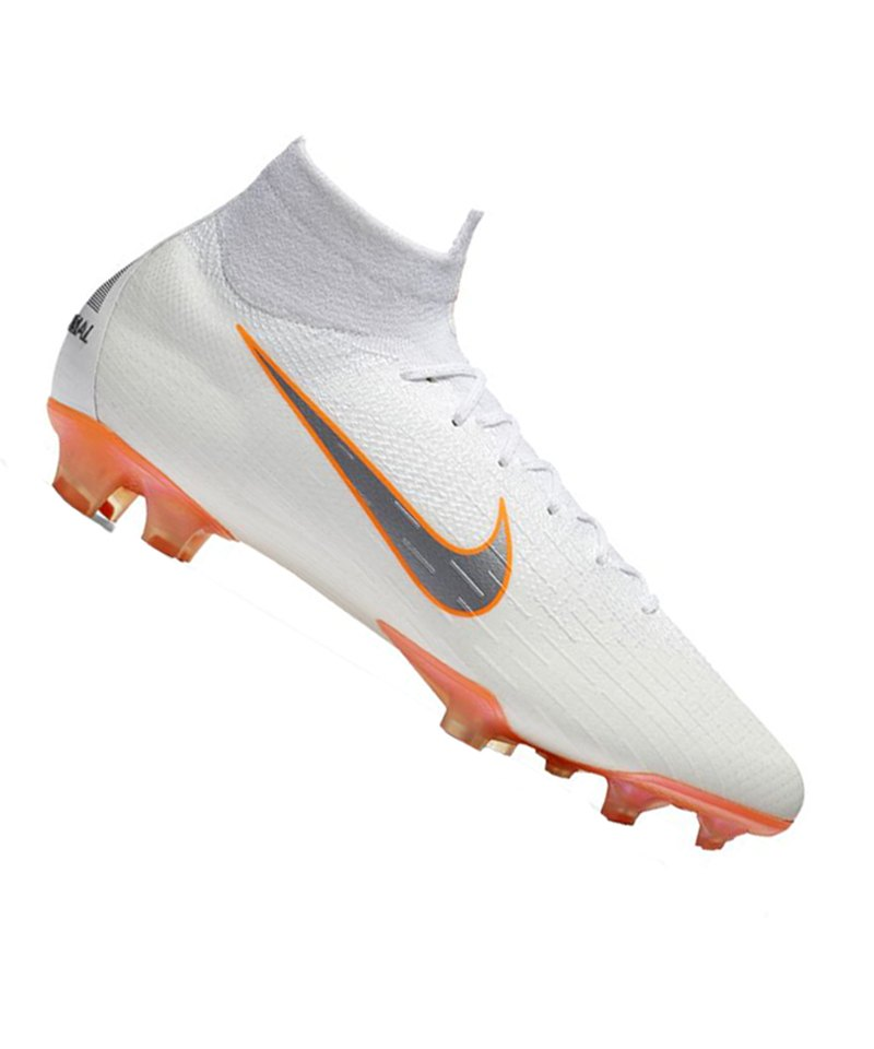 the latest c6b8e bbd57 Nike Mercurial Superfly VI Elite FG Weiss F107 - weiss