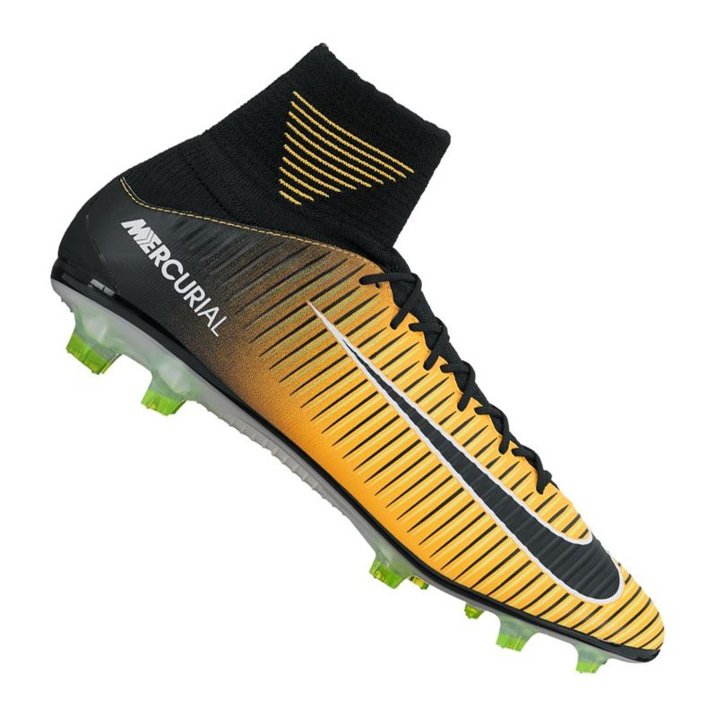 Nike Mercurial Veloce III DF FG Orange F801