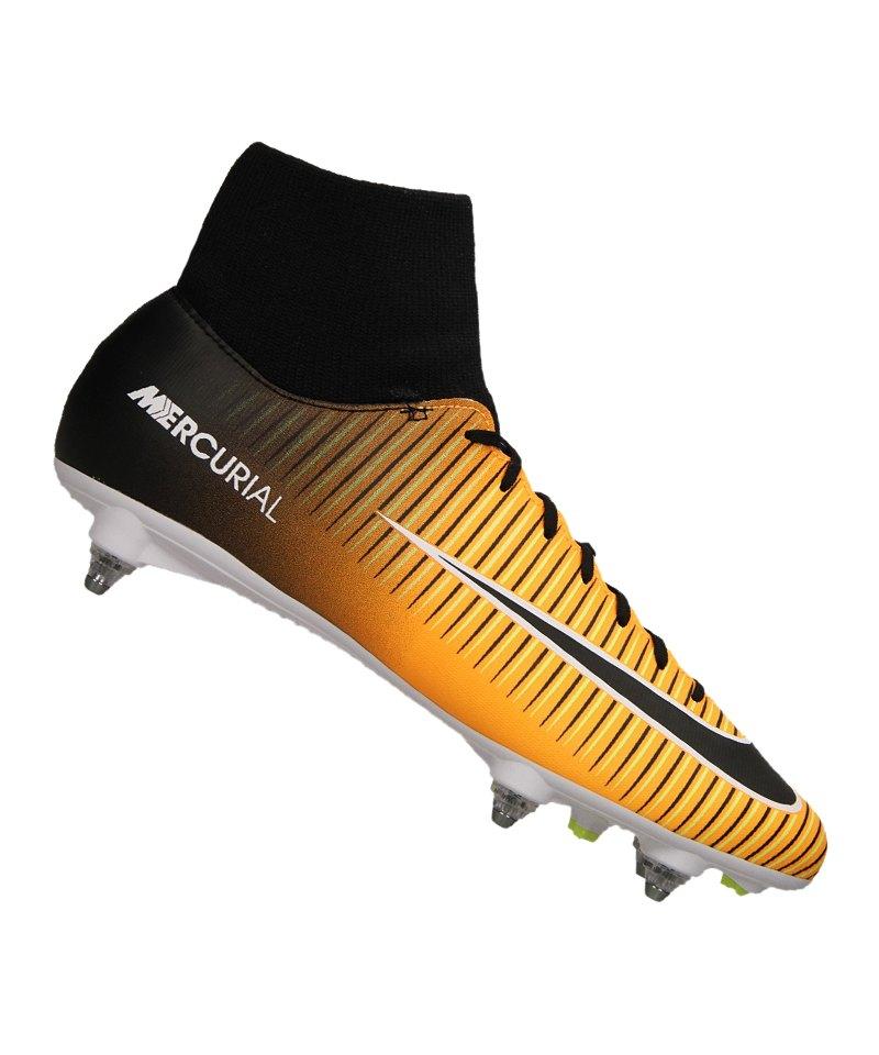 brand new 57fc4 feb42 Nike Mercurial Victory VI DF SG Orange F801