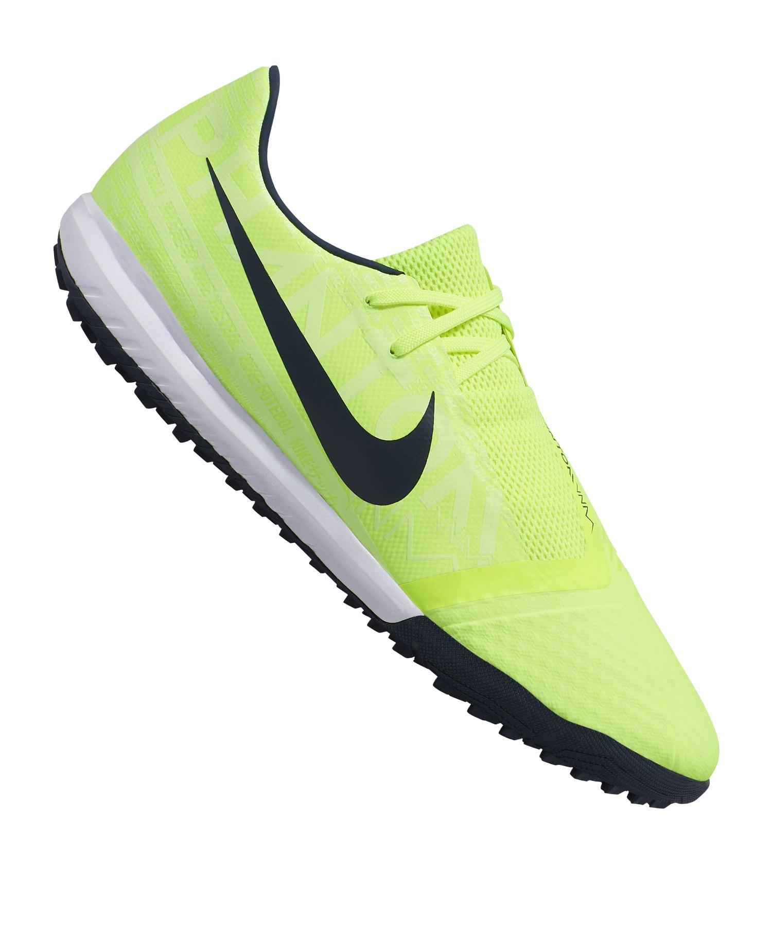 Schuhe Fussball Kinder Nike Mercurial Victory VI TF GelbSchwarz