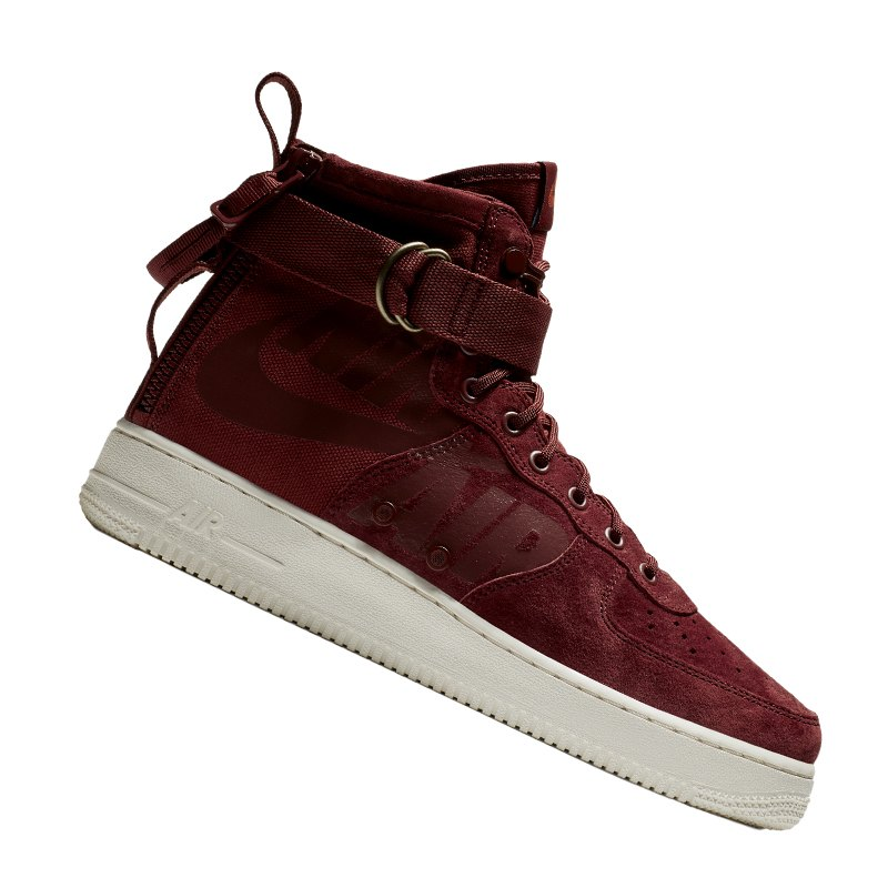 Nike SF Air Force 1 Mid Sneaker Rot F202