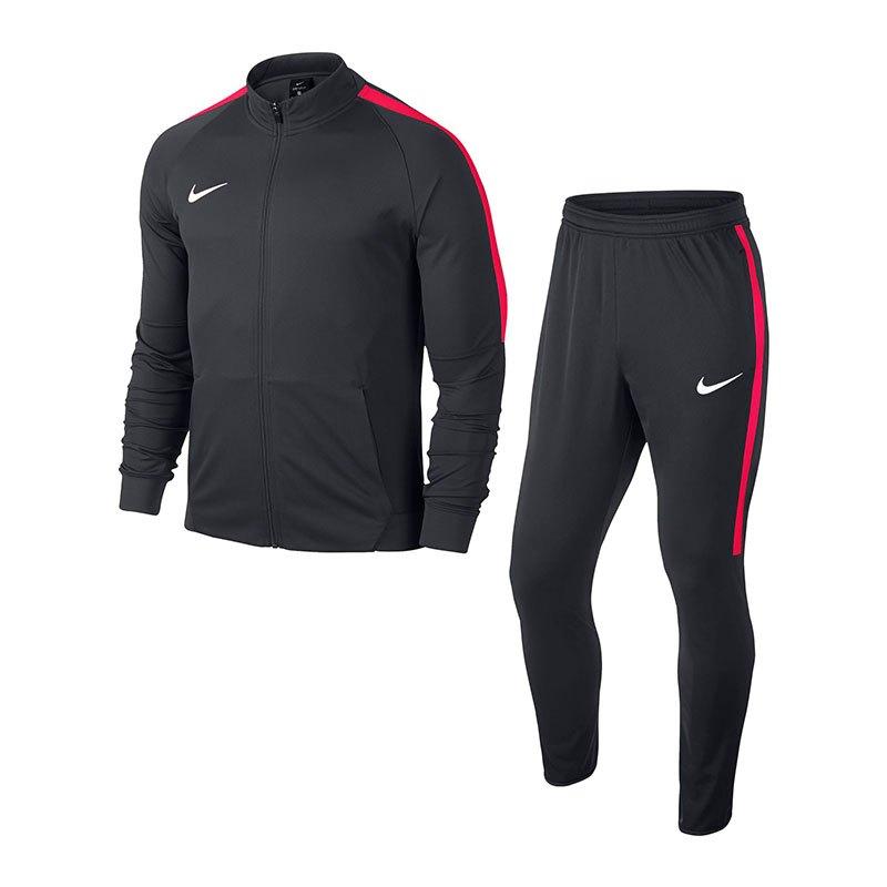 Nike Squad 17 Dry Trainingsanzug Grau Rot F061