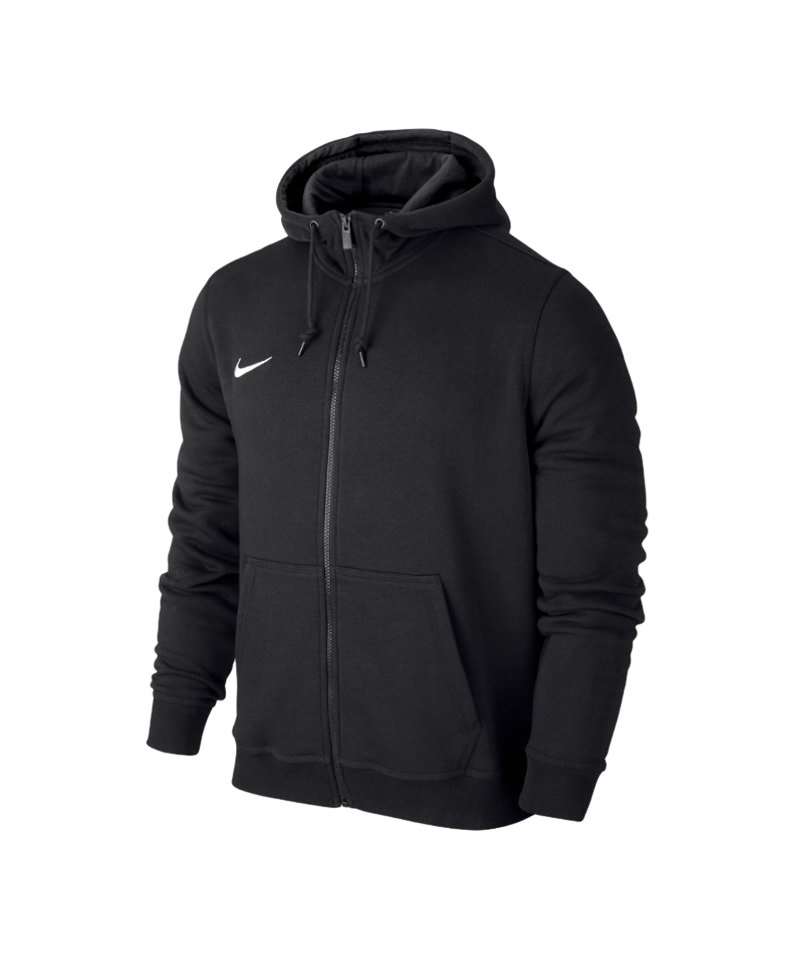 Nike Team Club Full Zip Hoody Kapuzenjacke schwarz