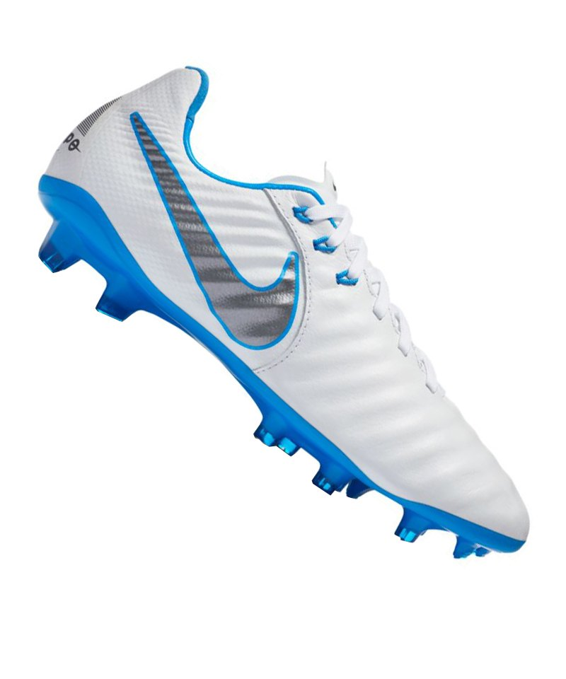 new product 0982d 0f22a Nike Tiempo Legend VII Elite FG Kids Weiss F107