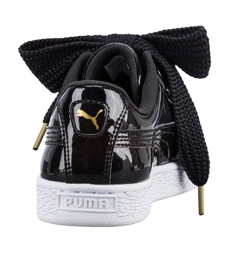 PUMA Basket Heart Patent Sneaker Damen F01 39