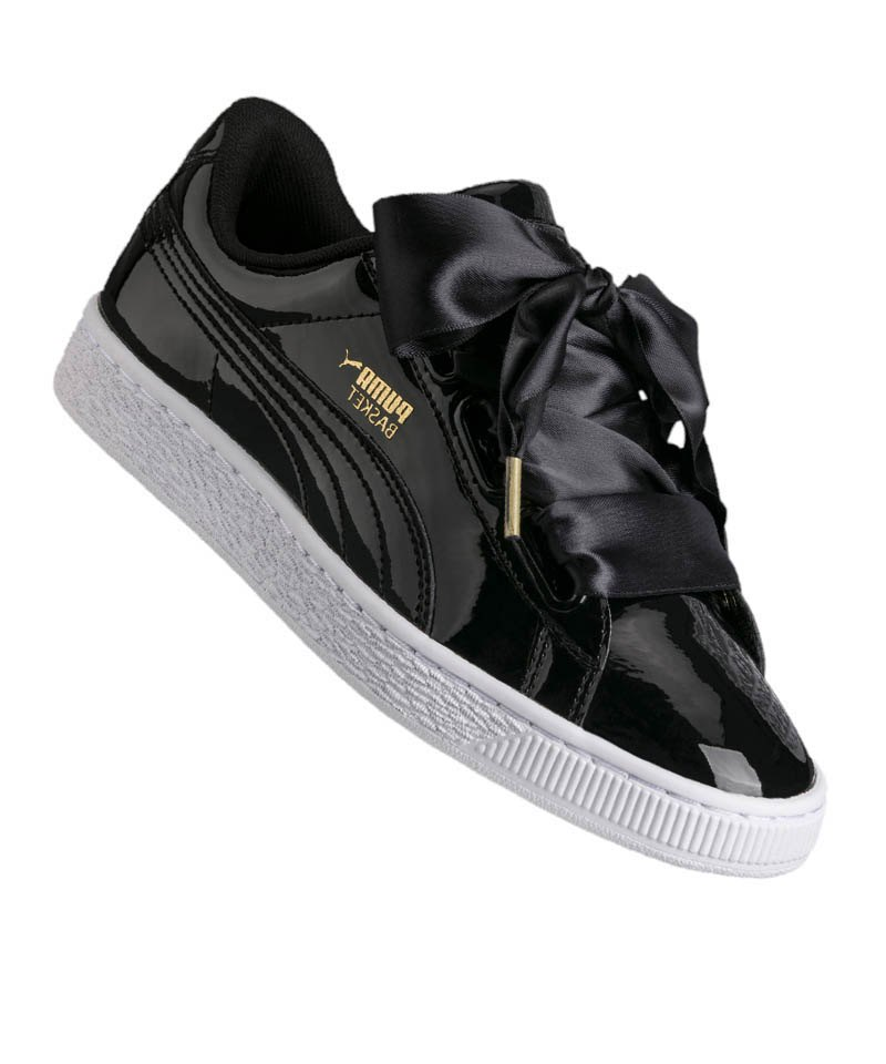 Puma basket heart patent sneakers | shoes ! | Puma schuhe