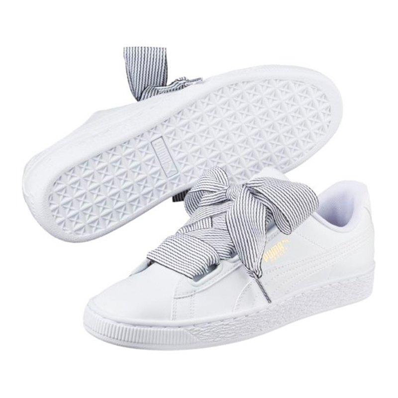 puma basket heart sneaker damen weiss f03 weiss. Black Bedroom Furniture Sets. Home Design Ideas