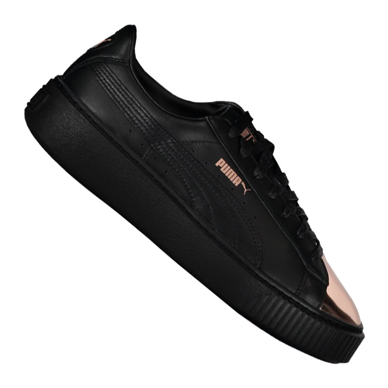 PUMA Basket Platform Metallic Sneaker Damen F02