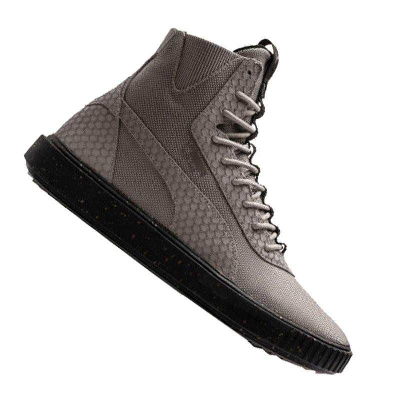 Details zu Puma Breaker Hi Blocked Evolution Sneaker Herren Stiefel Elephant Skin 366989 01