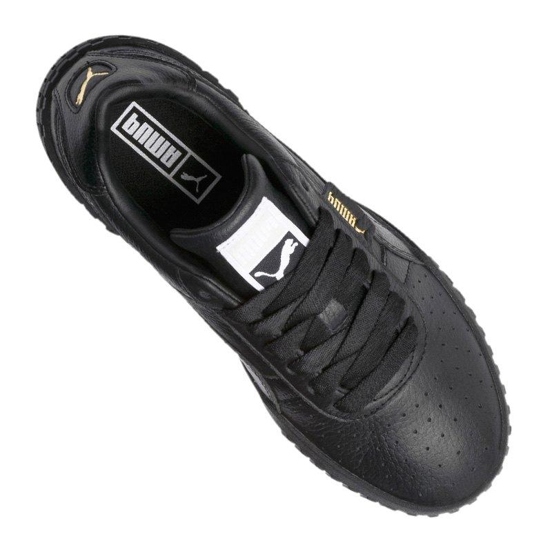F05 Sneaker Puma Damen Schwarz Cali kn0POw