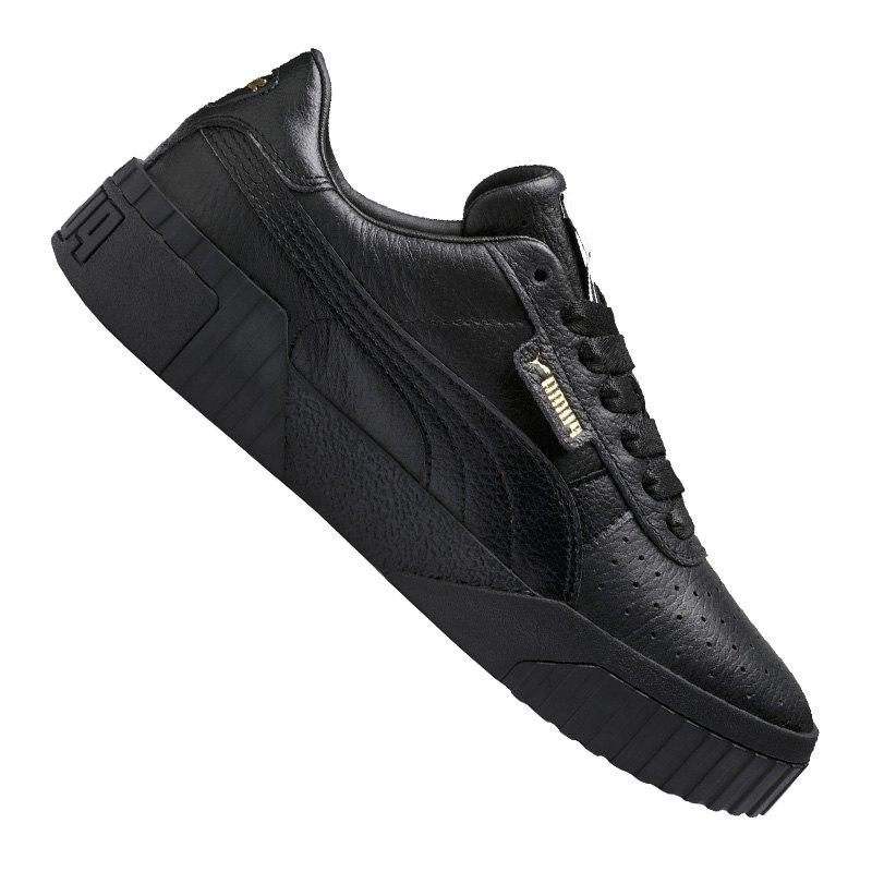 PUMA Cali Sneaker Damen Schwarz F05