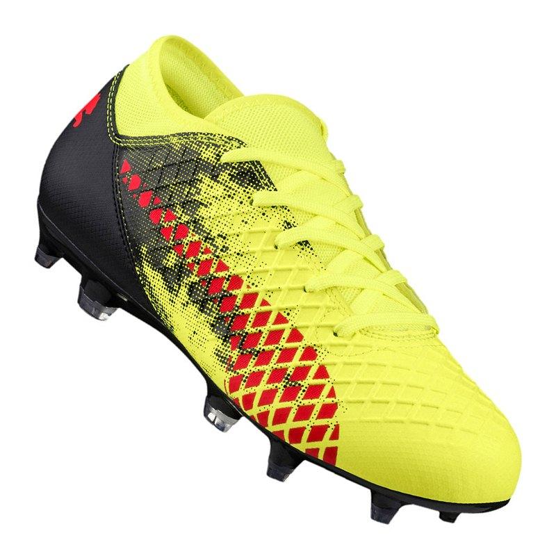 Puma Future 18.4 Schuhe Fußball Gelb Kinder Fußballschuhe