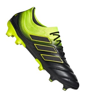 on sale f26c2 a2dda adidas-copa-19-1-fg-schwarz-gelb-fussballschuhe-