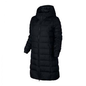 Nike winterjacke damen schwarz