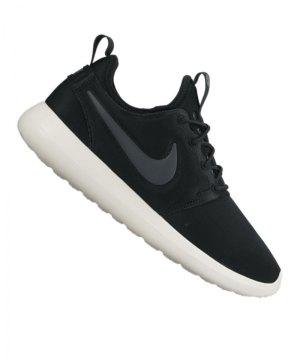 cheaper a6cde 13ba3 nike-roshe-two-sneaker-damen-schwarz-f002-schuh-