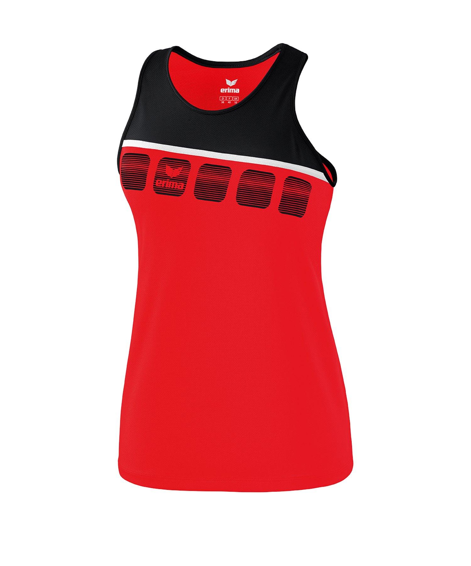 big sale d5a0c 148f2 Erima 5-C Tanktop Damen Rot