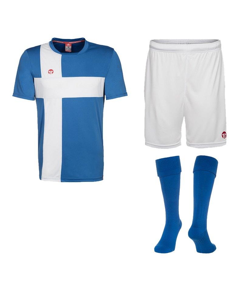 11teamsports Matchday Short Blau F40