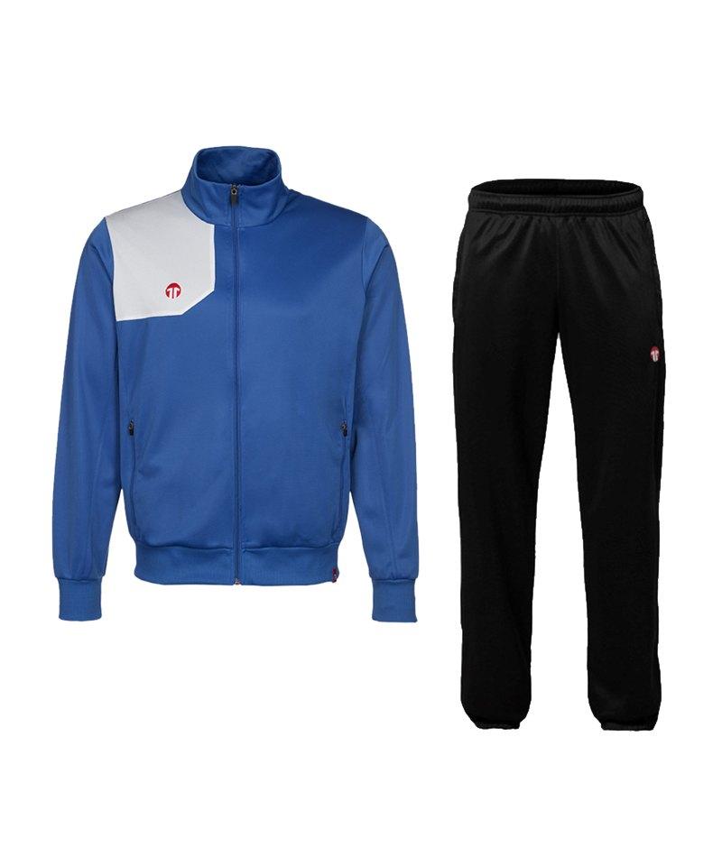 11teamsports Teamline Polyesteranzug Blau F40