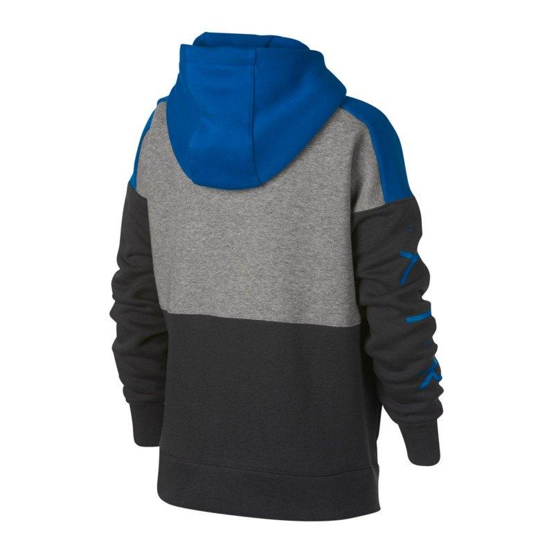 ffe5b88efa6a Nike Air Hoody Fullzip Kids Grau F063   Streetwear   Longsleeve ...