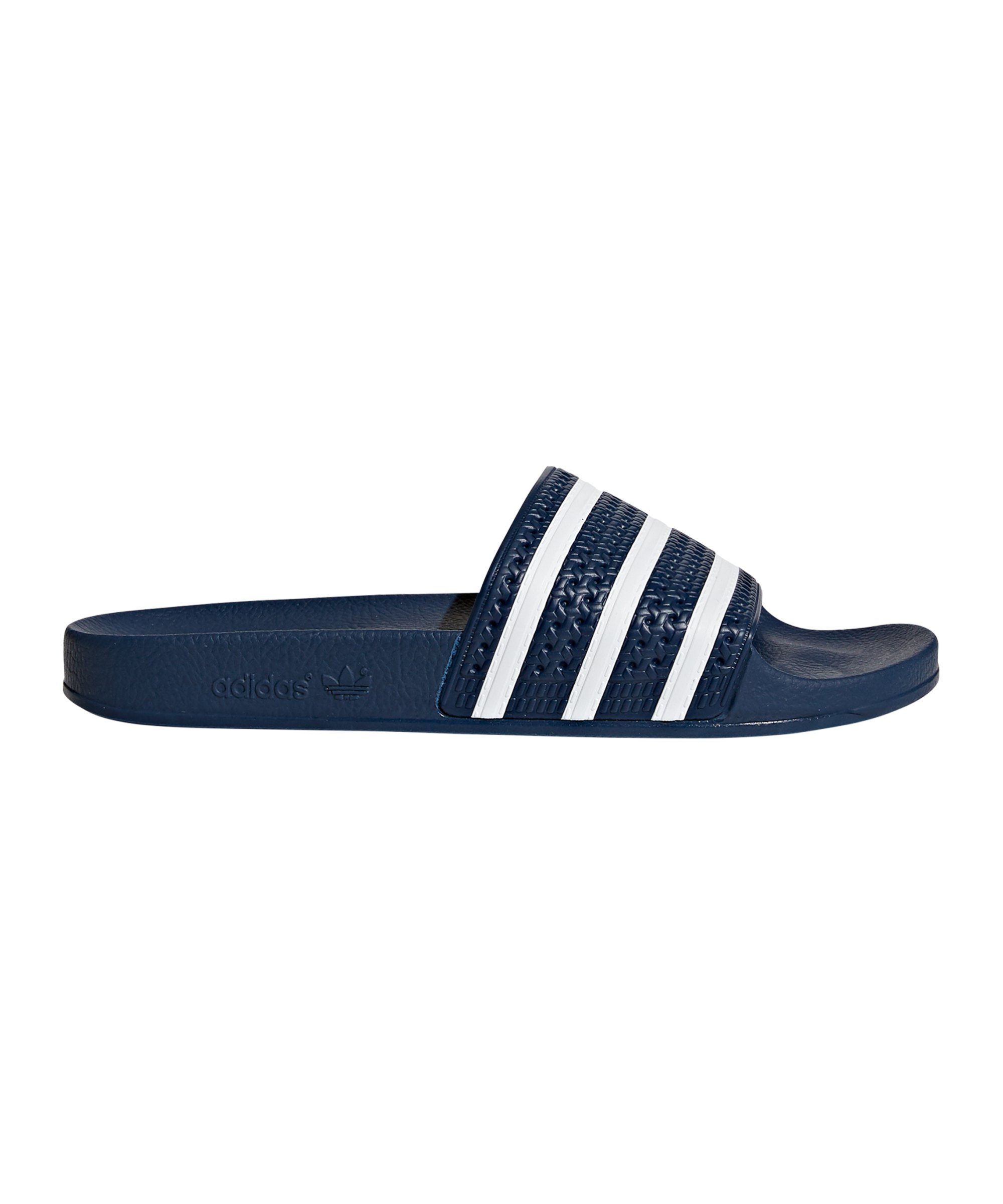 newest 15ec2 a568c adidas Originals Adilette Blau Weiss - blau