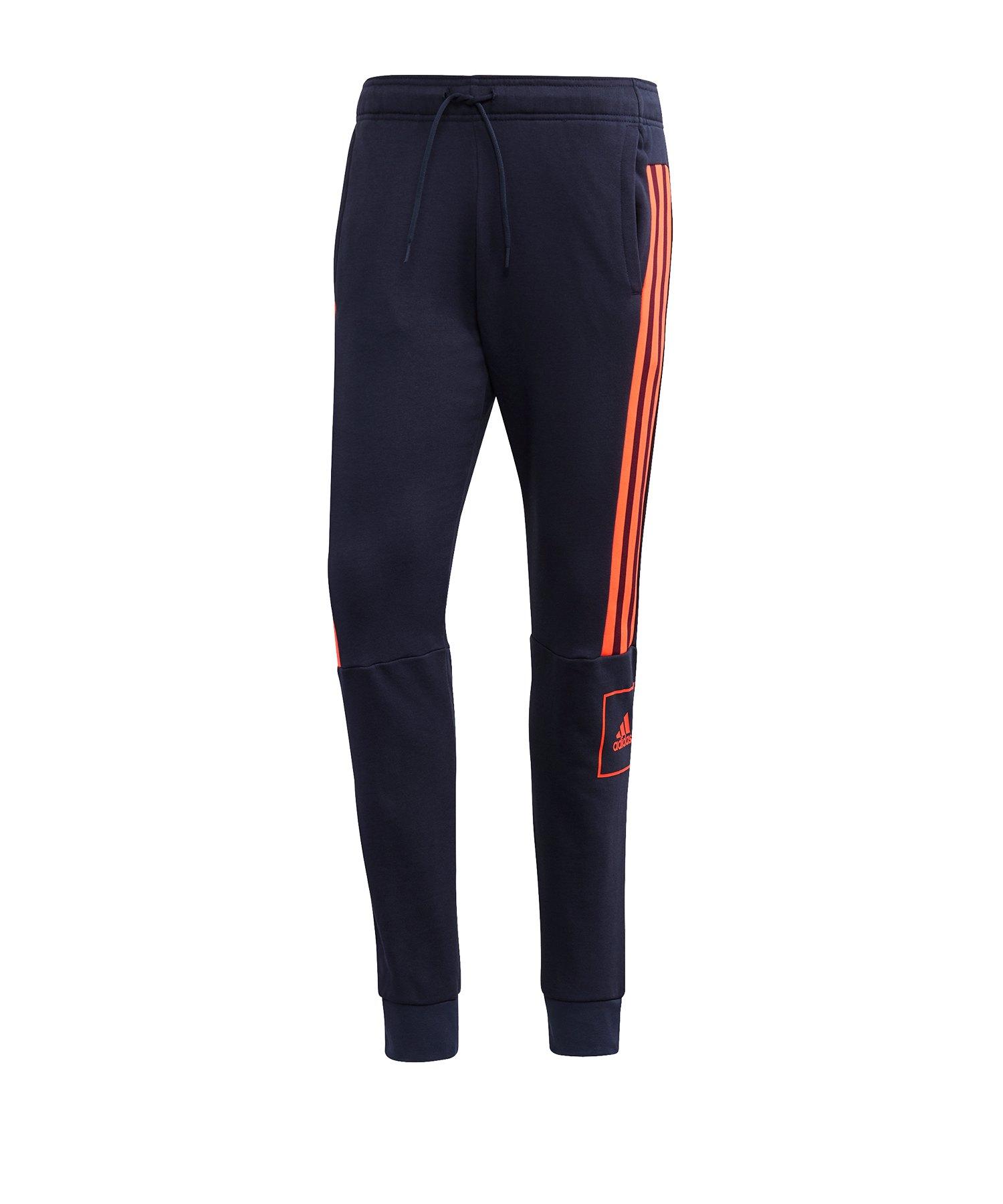 adidas Core 15 Jogginghose blau Teamwear Hosen lang