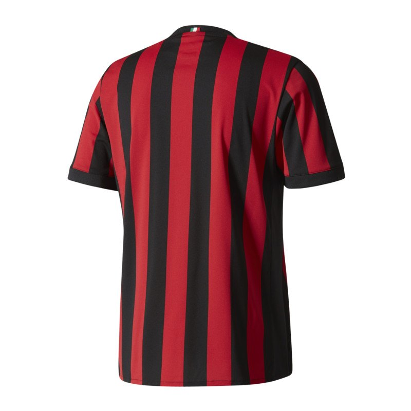 adidas ac mailand trikot home 2017 2018 rot. Black Bedroom Furniture Sets. Home Design Ideas