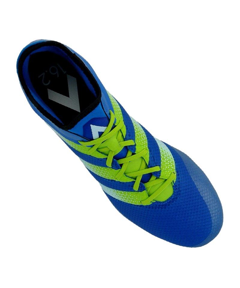 Adidas Ace 16.2 Primemesh Fg Blau Grün
