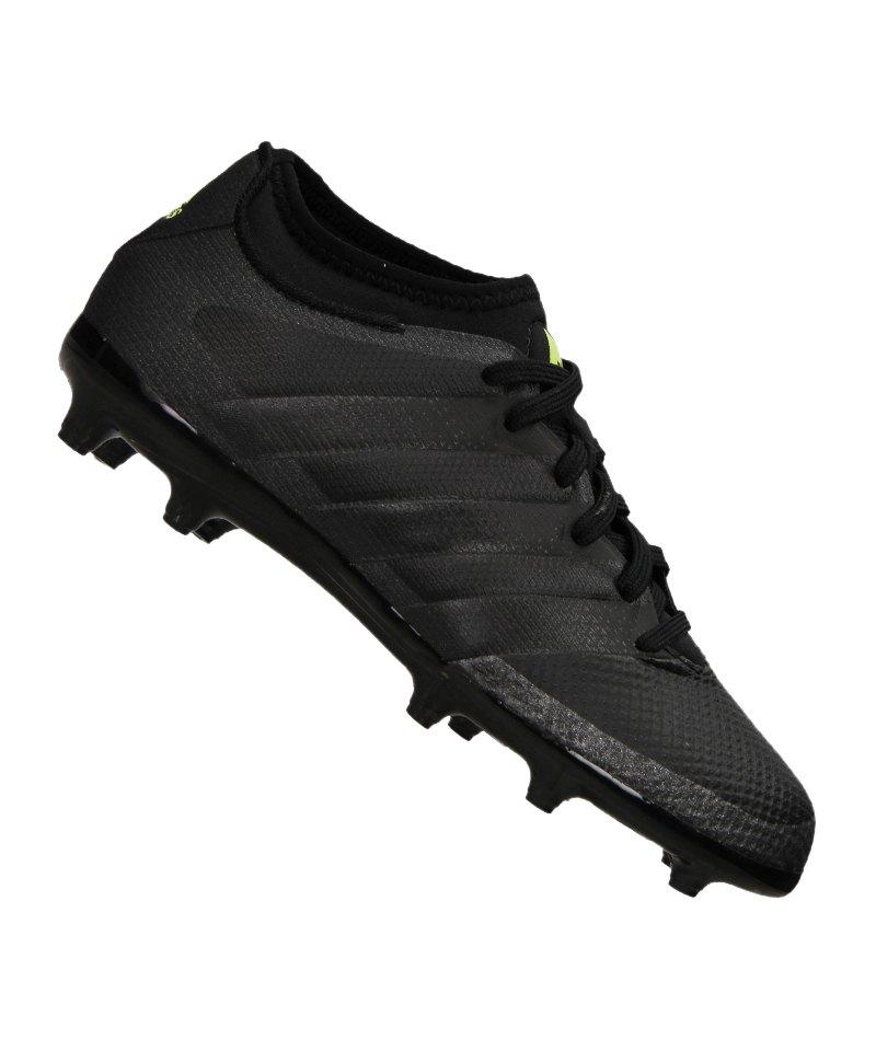 new product 6f7e4 a1f72 adidas ACE 16.3 Primemesh FG J Kids Schwarz - schwarz