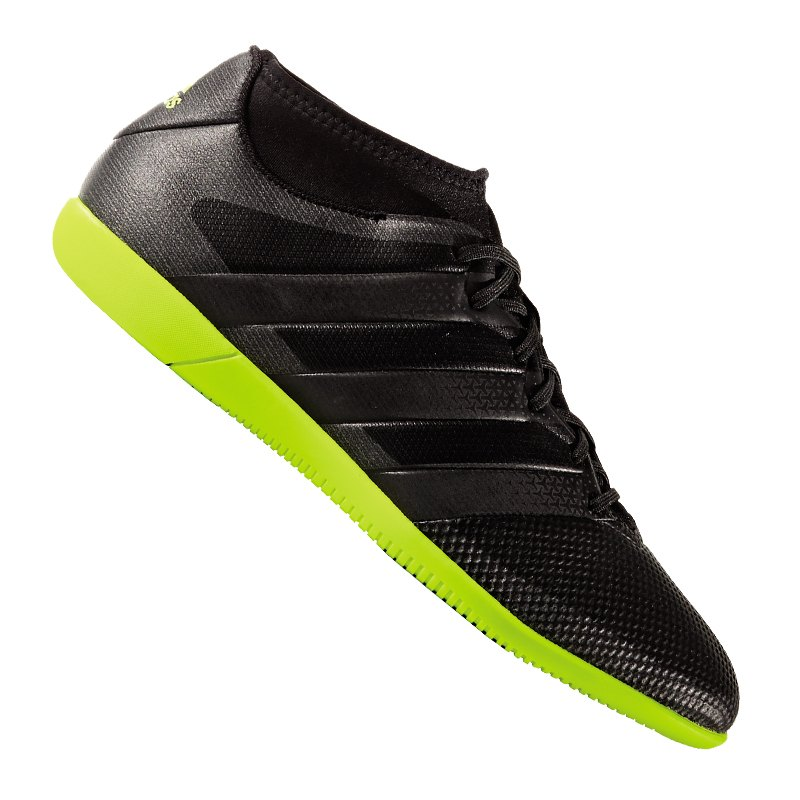 adidas ace 16 3 primemesh in halle schwarz gelb. Black Bedroom Furniture Sets. Home Design Ideas