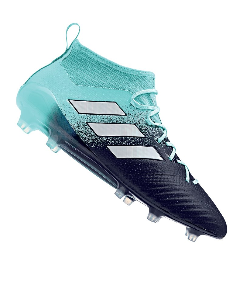 new concept b8736 04b32 adidas ACE 17.1 Primeknit FG Blau Weiss - blau